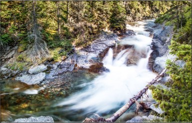 These cascades were near Blakiston Falls in Waterton National Park, but not the falls themselves.