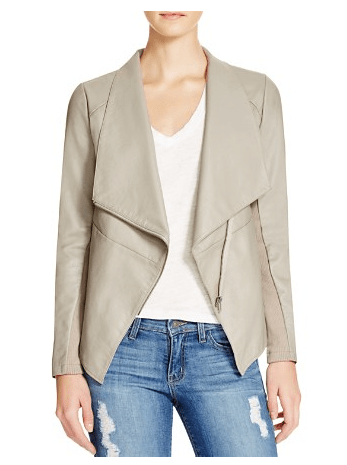 BB DAKOTA Murphy Faux Leather Jacket $97