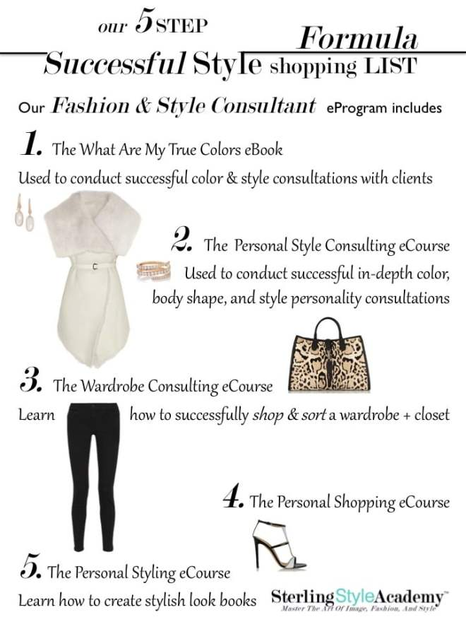 Sterling Style Academy 5 Step Successful Style Formula eCertification Program
