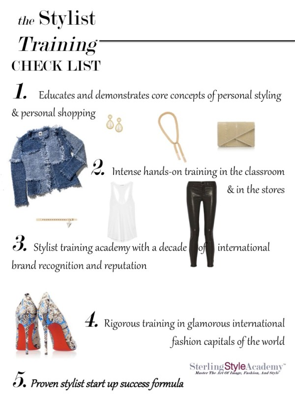 Stylist Training Check List   Sterling Style Academy