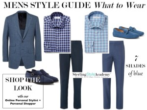 Men's Style Guide | Online Personal Shopper | 7 Shades of Blue
