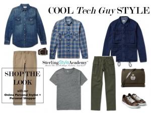 Online Personal Shopper | Cool Tech Guy Style