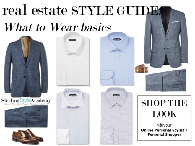 Real Estate Style Guide   What to Wear Basic   Sterling Style Academy
