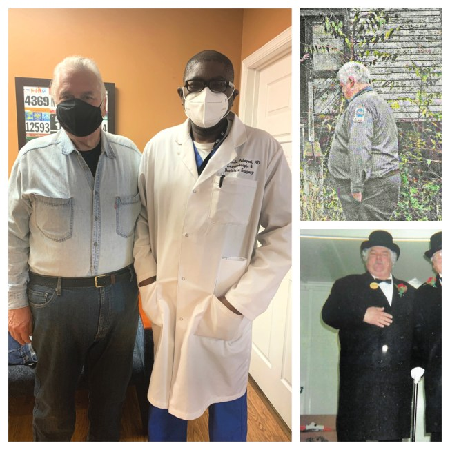 James has gstric sleeve bariatric weight loss surgery performed by Dr. Adeyeri in Holmdel