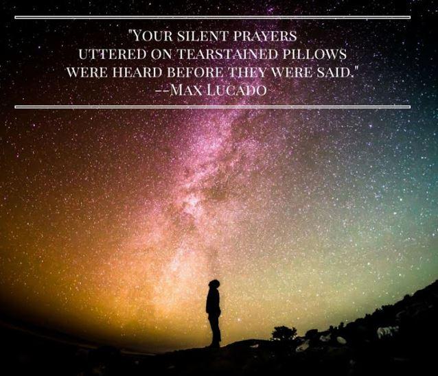 Silent Prayers, On Tearstained Pillows