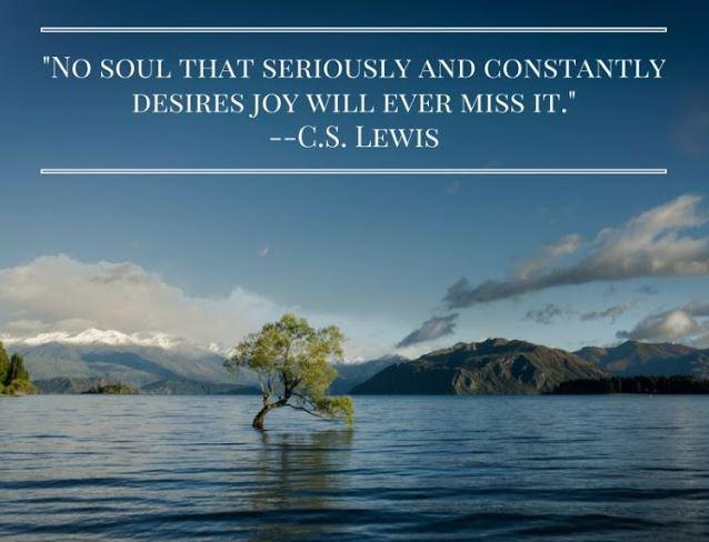 Constantly Desires Joy