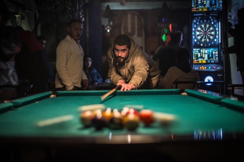Learning To Shoot Pool In Saudi Arabia