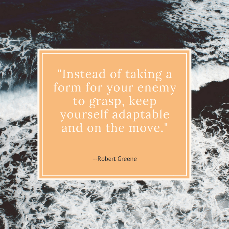 Keep Yourself Adaptable And On The Move