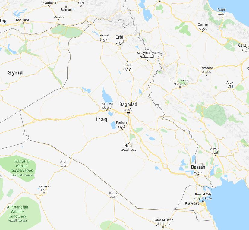 Iraq Map Origin