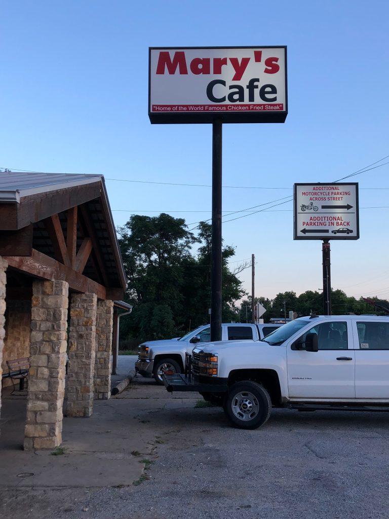 Mary's Cafe, Strawn Texas