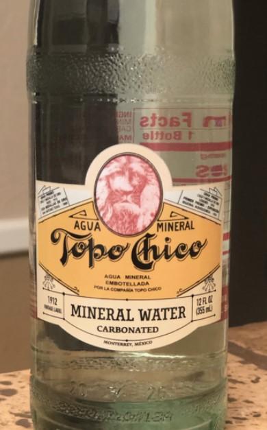 New Topo Chico Label