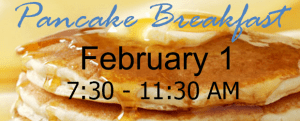 Super Bowl Pancake Breakfast