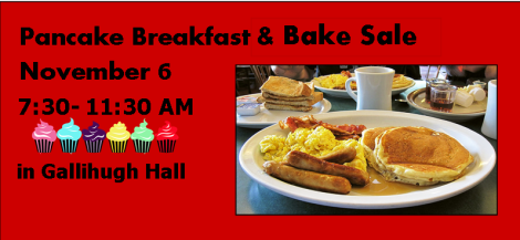 Pancake Breakfast & Bake Sale