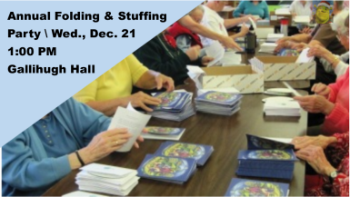 Folding & Stuffing Party