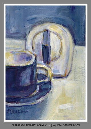 Blue: Espresso Timer V2