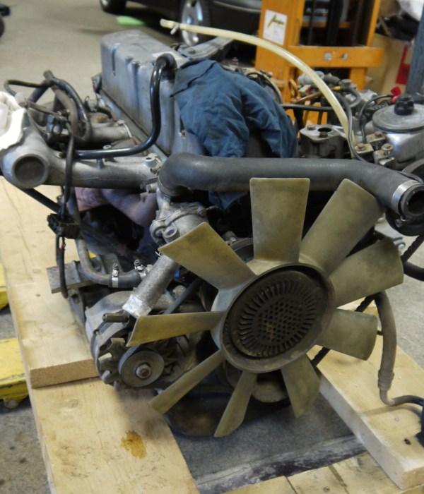 Teil 12: W460.332 (300 GD) – Der Motor muss raus! Raus muss er!