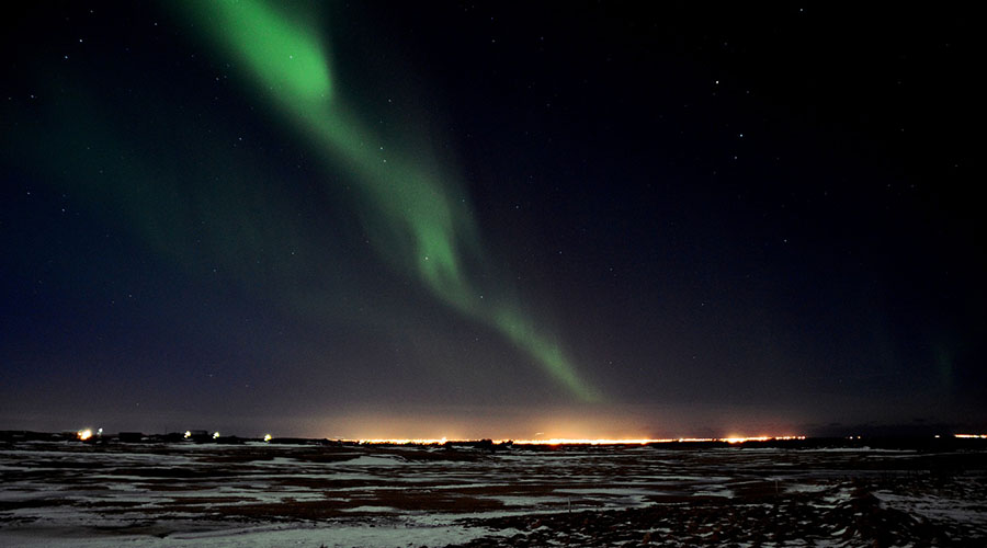 The dazzling Northern Lights
