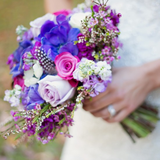 purple and magenta flowers, NSE, northland special events, duluth, mn, cloquet wedding