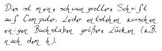 PC-Handschrift 3