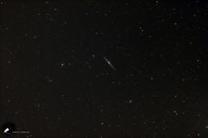 Die Spindelgalaxie (Galaxie in Kantensicht) - NGC 4565