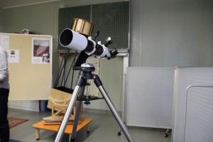 Tag der offenen Tür 2017 - Teleskopaustellung