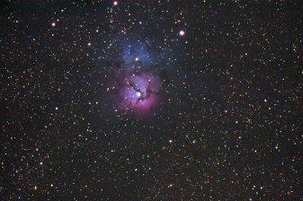 Trifidnebel Messier 20