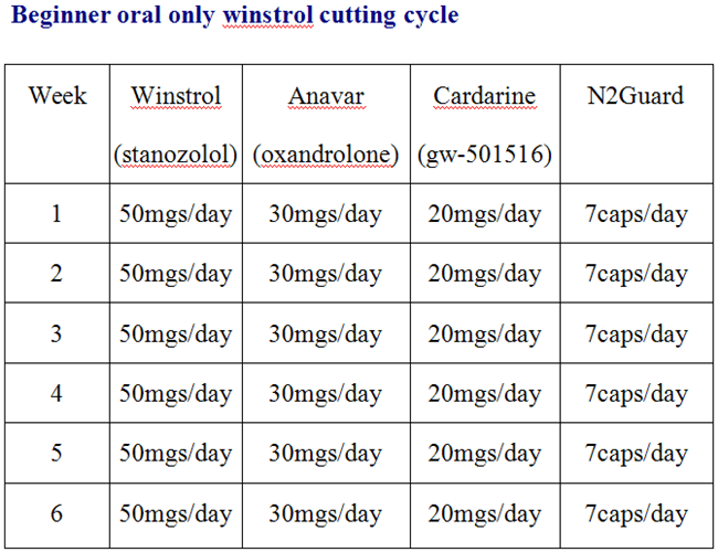 winstrol cycle for beginners