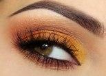 Trucco-occhi-castani-sfumature-arancio