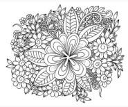 расскраски-антистресс-для-взрослых-цветочная-композиция