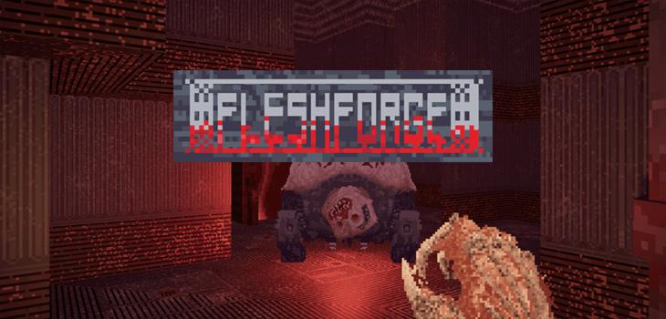 fleshforge doom like browser game