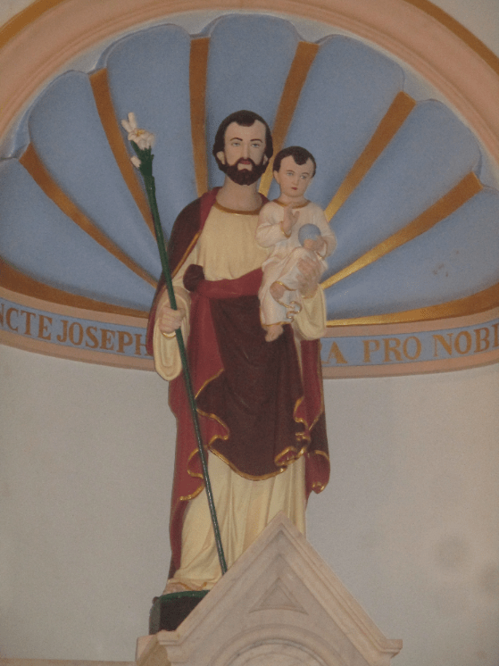 Who knew that baby Jesus had male-pattern baldness, obviously inherited