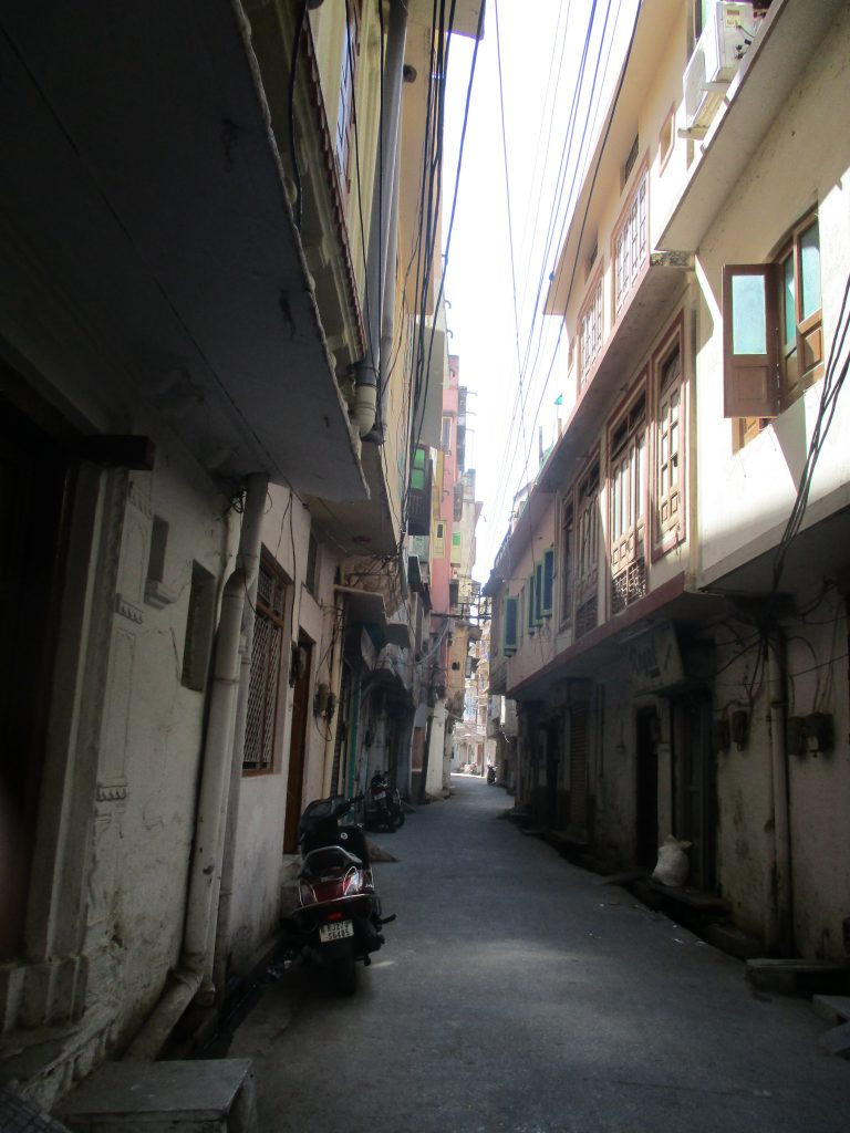 Loved this tall long alleyway