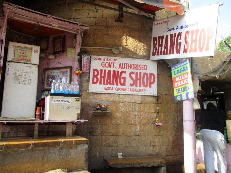 Jaisalmer bhang shop - unvisited