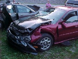 The car that hit her