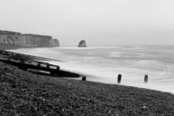 A wild incoming tide at Freshwater Bay
