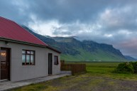 The farmhouse at Eyjafjallajökull