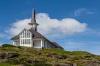 Hólmavíkurkirkja church in Hólmavík