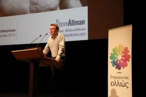 Steve Allman, Social Enterprise Conference, Athens
