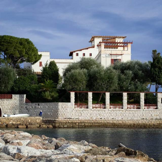 Steve and Carole In Vence - Villa Kerylos