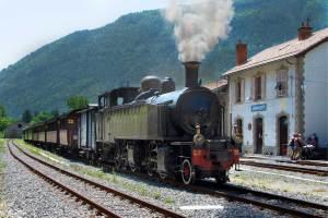 Steam Train to Annot
