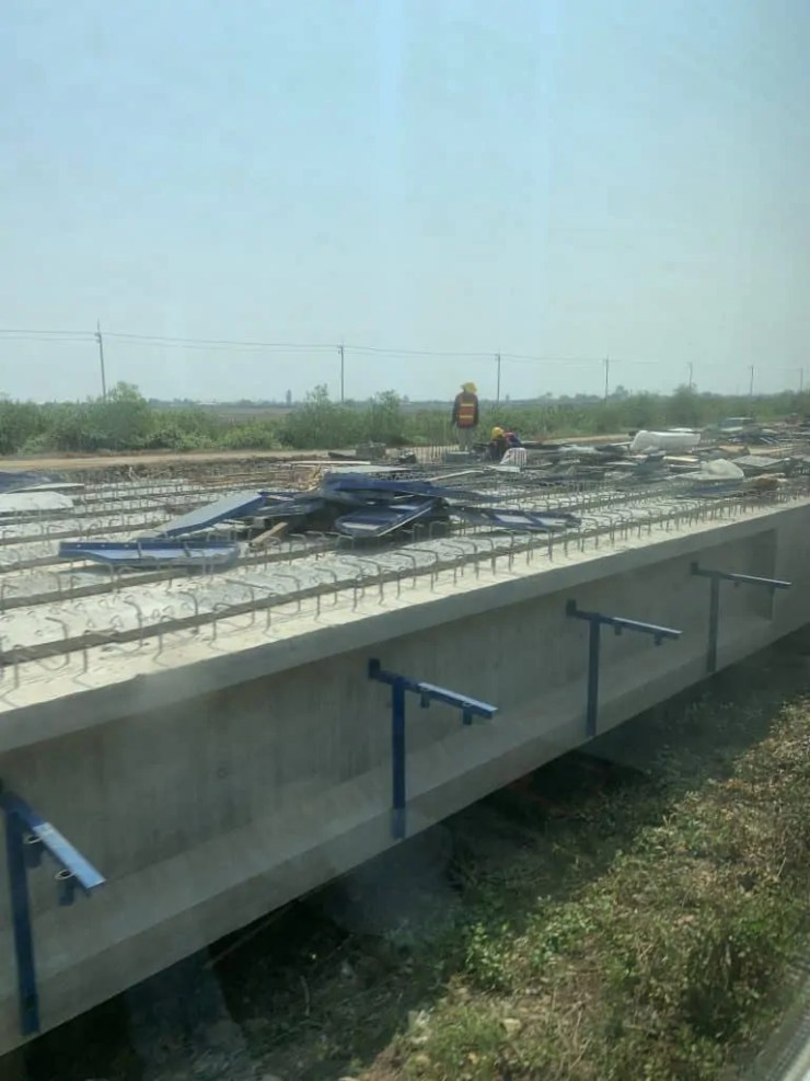 new train track construction