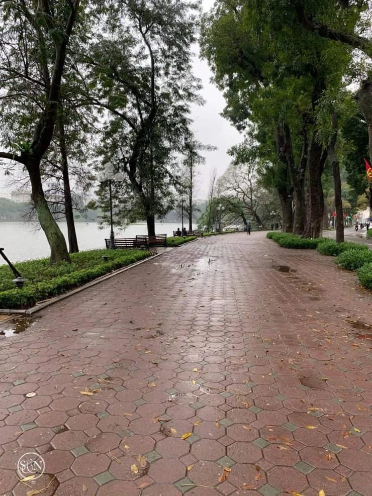 Empty path in Hanoi