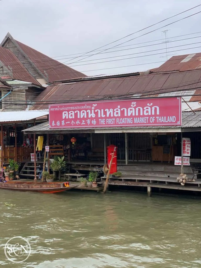 Touring the Damnoen Saduak Floating Market is one item on both our bucket lists! Come along as we explore the boats, vendors, foods & sights along the way.