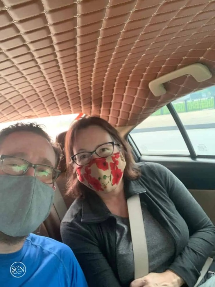 Traveling from our hotel to the Hanoi International Airport