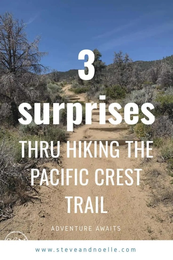 It's our first week hiking the Pacific Crest Trail. What surprises me most about our time out here so far? Come check it out.