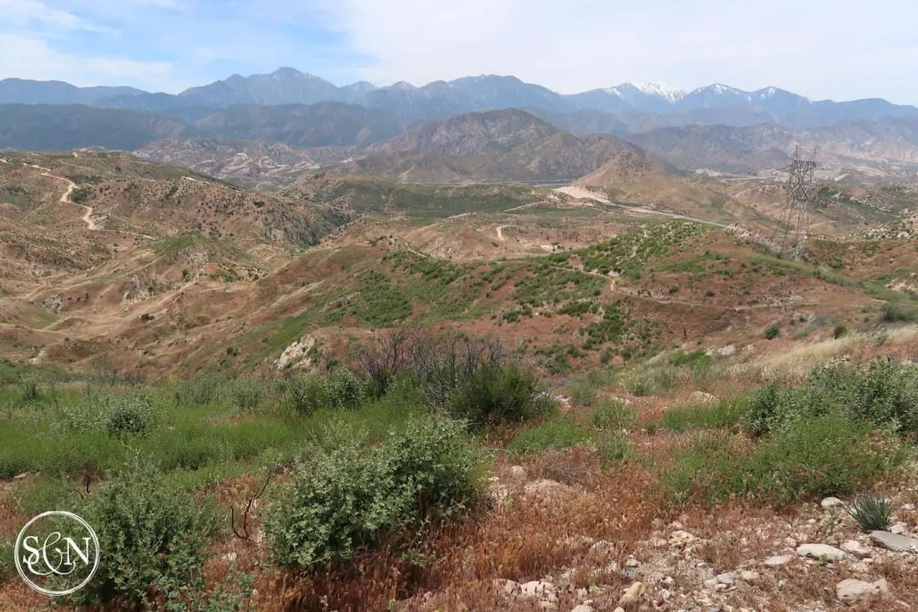 Cajon Pass in the distance