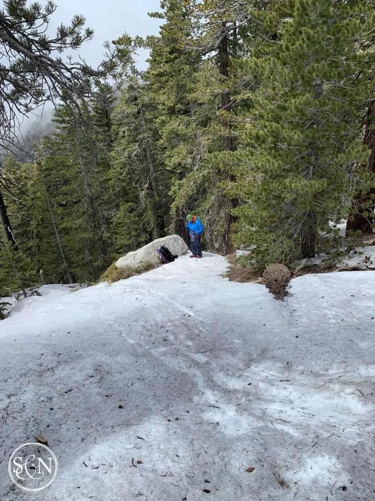 Steve's snow slide