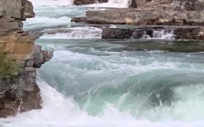 Kootenai Falls, Montana:  Stop here!