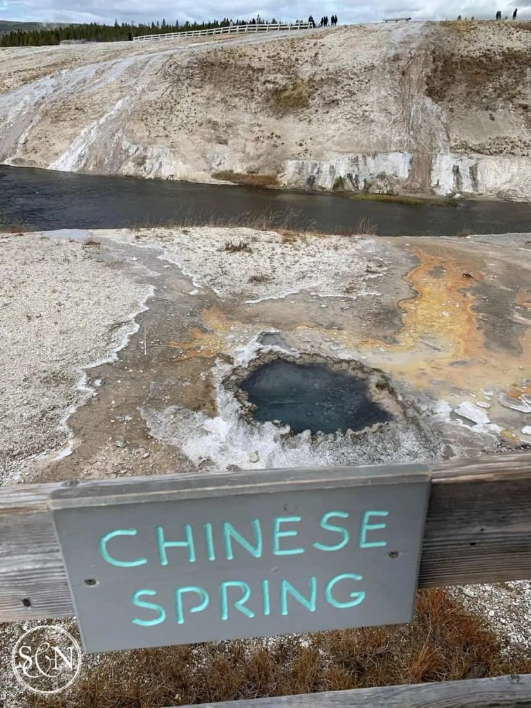 Yellowstone National Park - Chinese Spring