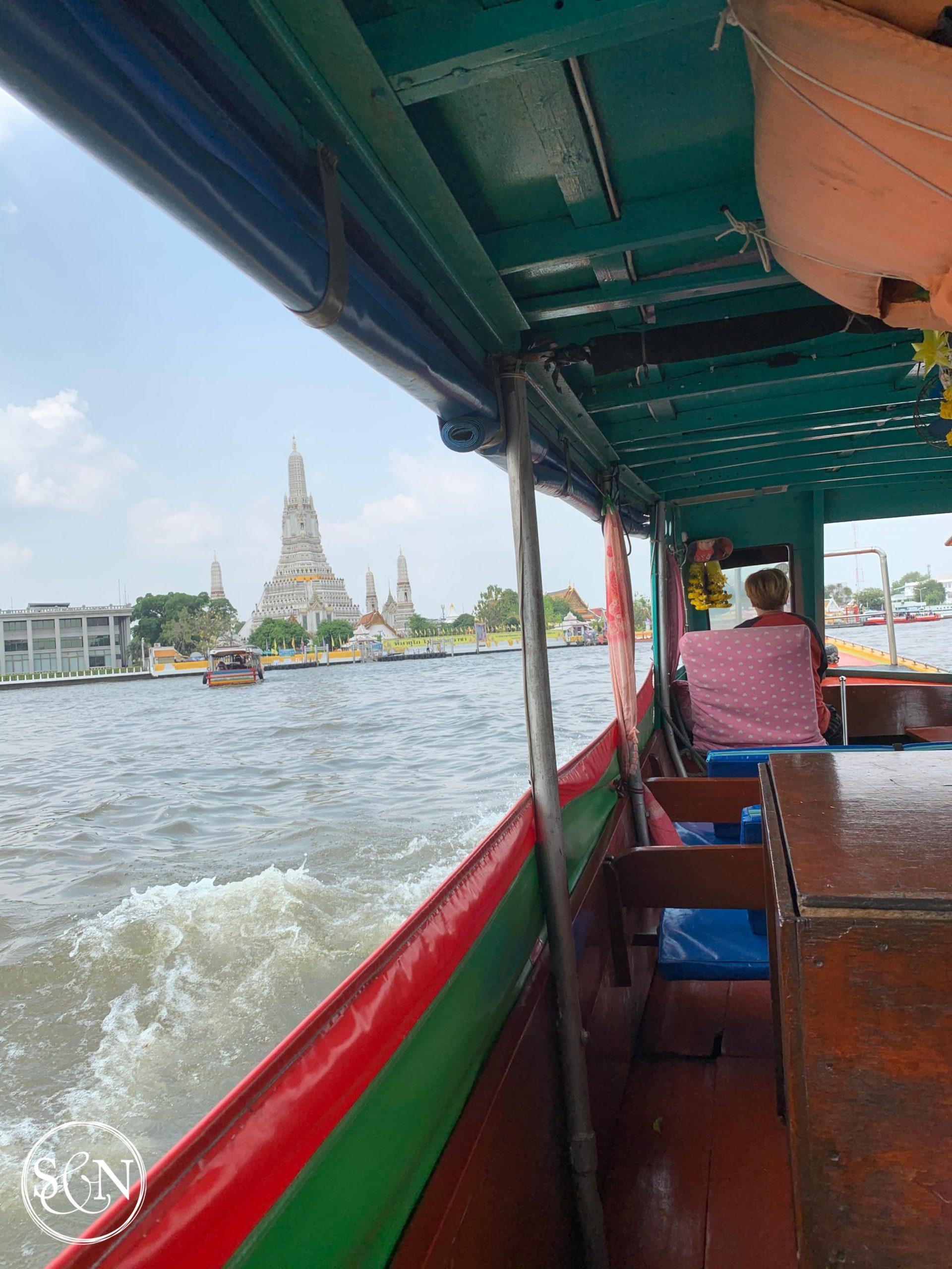 Public Ferry to Wat Arun from Pier 8